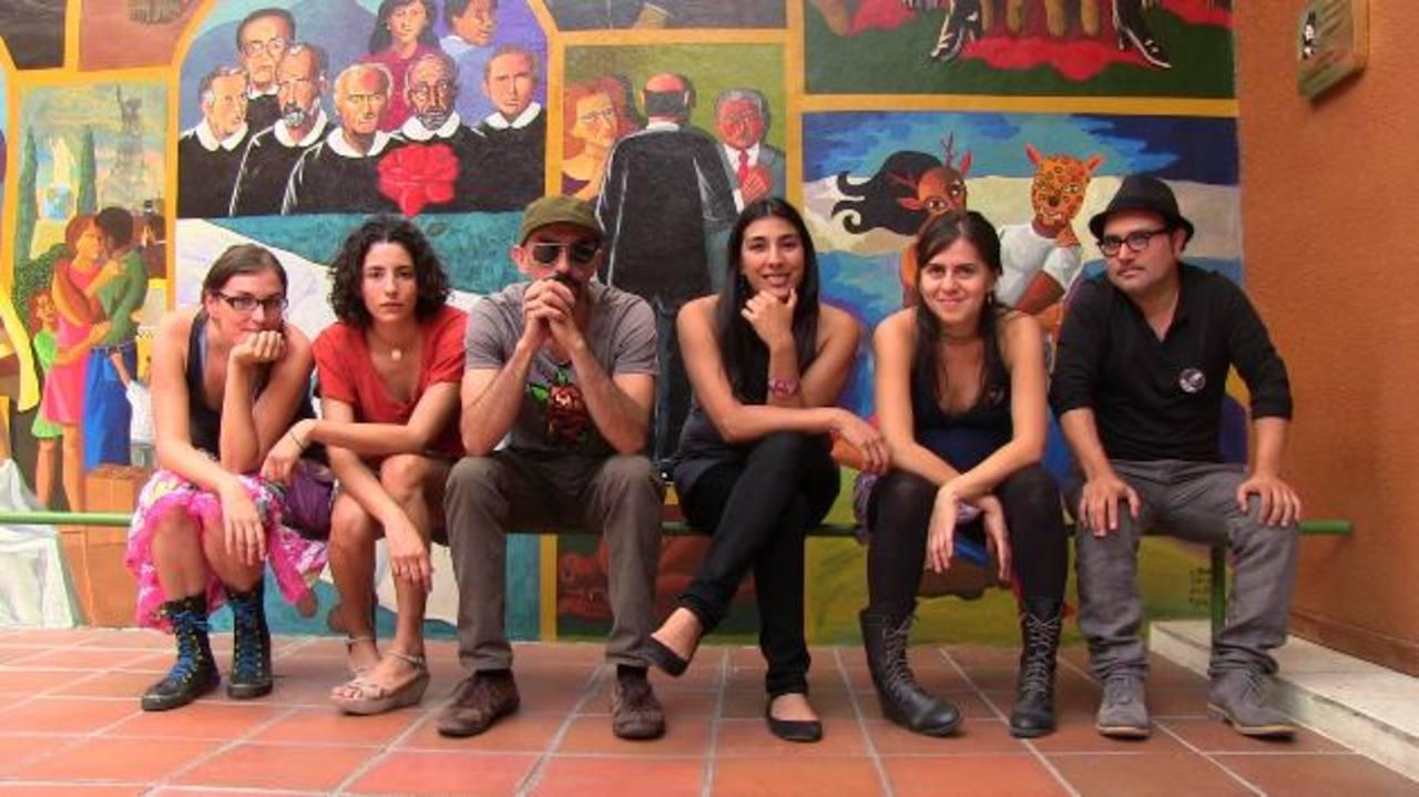 Pamela Palenciano, Paola Miranda, Luis Felpeto, Alicia Chong, Egly Larreynaga y Ronald Morán.