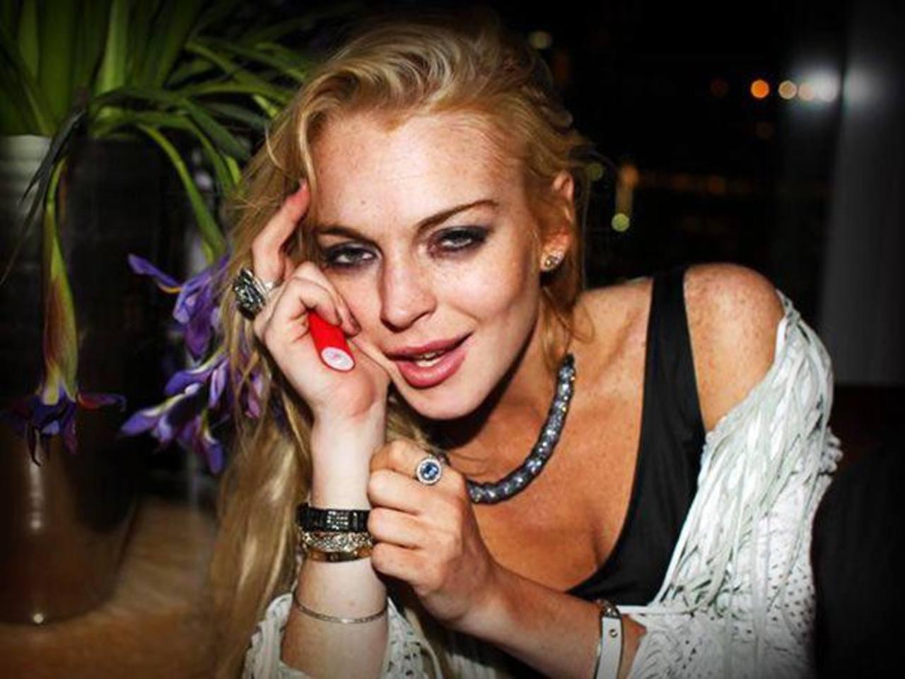 Lindsay ha tenido serios problemas con las drogas. Foto edh