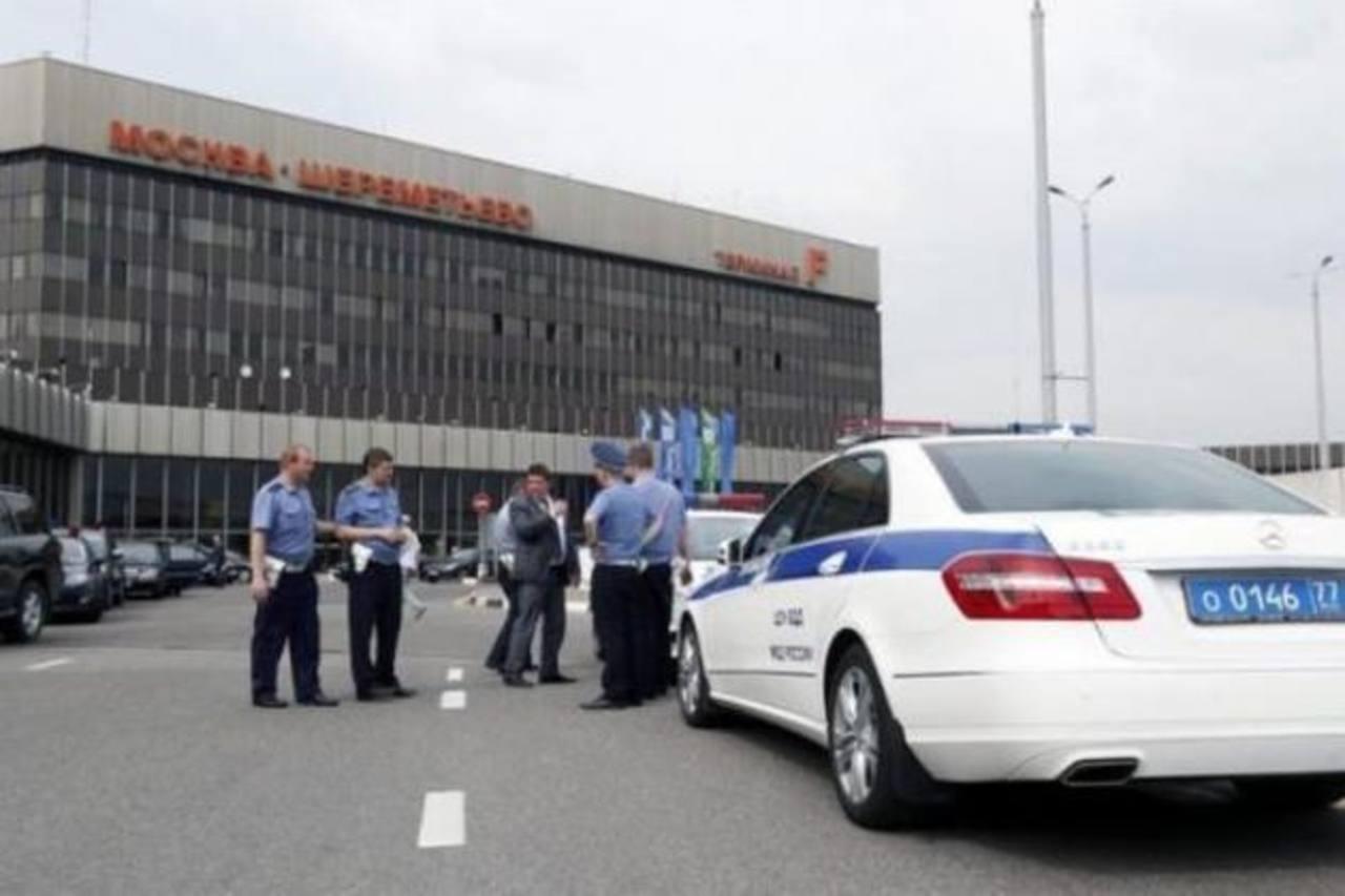 Aeropuerto moscovita de Sheremetyevo, donde está Snowden.