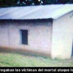 Imagen de la iglesia en donde se congregaban las víctimas.