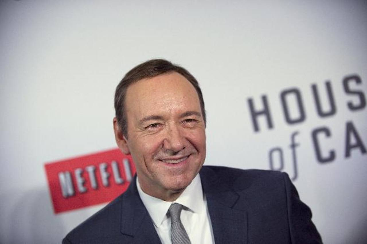 "Kevin Spacey, de la serie ""House of Cards"". Foto Reuters"