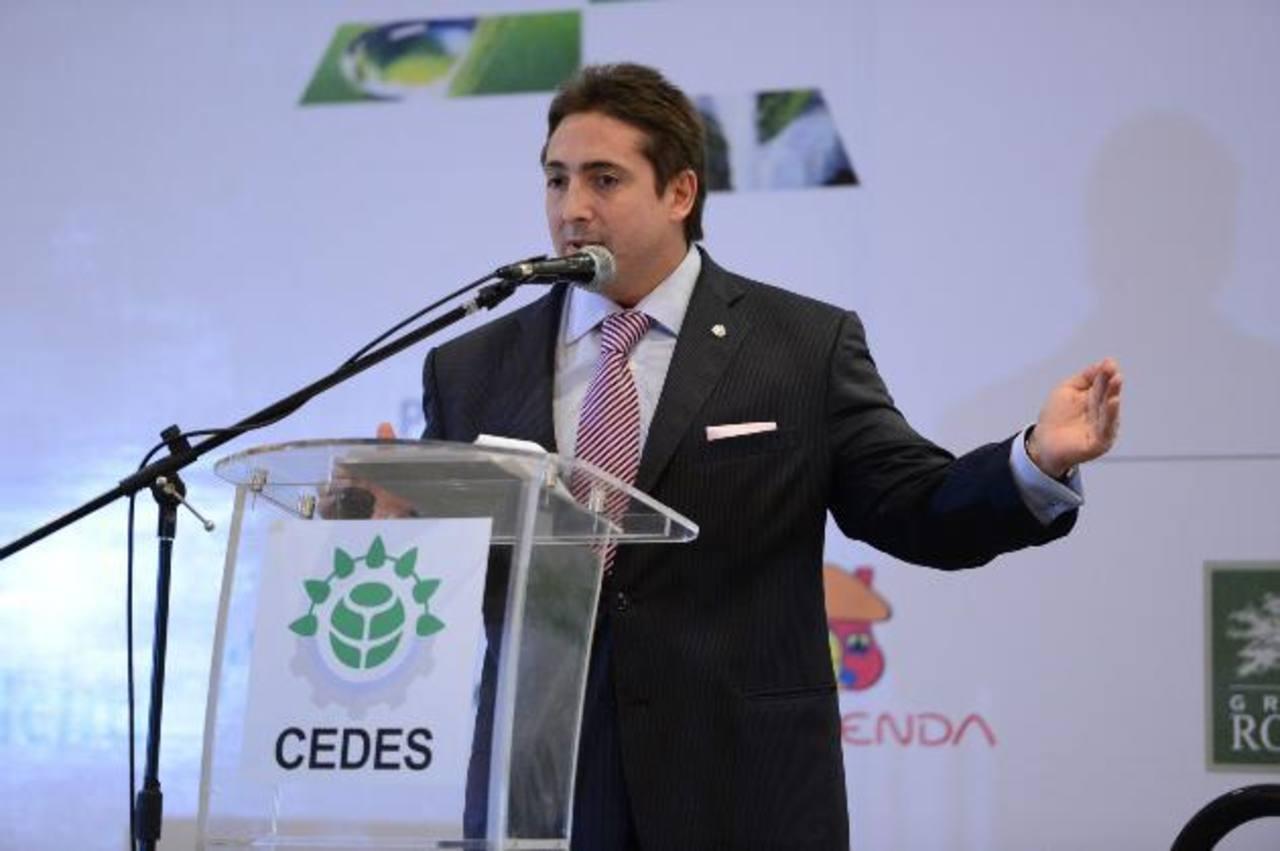 Sebastián Bigorito, director del CEADS argentino fue uno de los disertantes ayer en el foro Visión 2050. Foto EDH/M. Cáceres