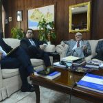 Magistrados Florentín Meléndez, Rodolfo González, Belarmino Jaime y Sidney Blanco forman el Tribunal Constitucional. Foto EDH