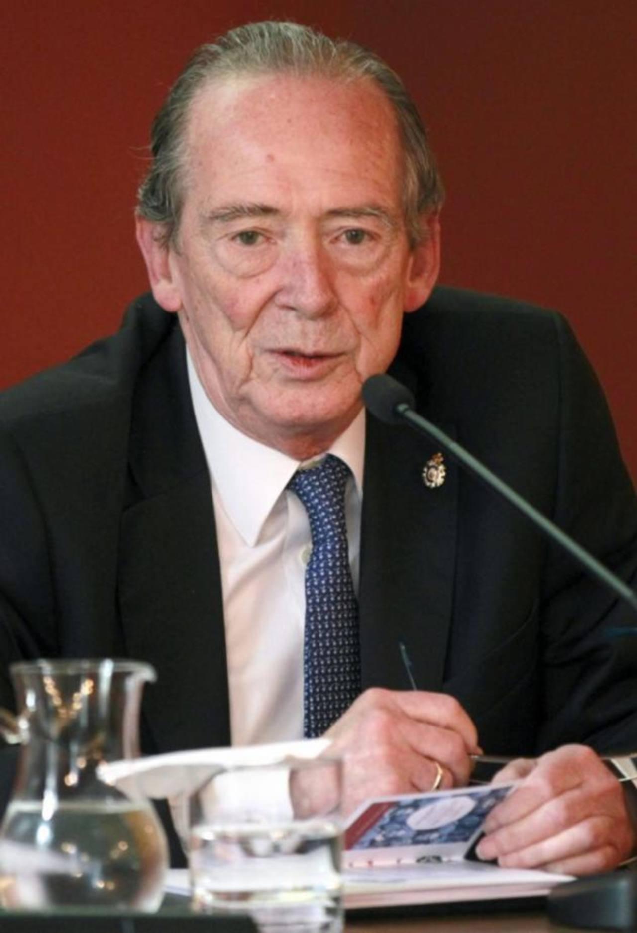José Manuel Blecua, presidente de la RAE.