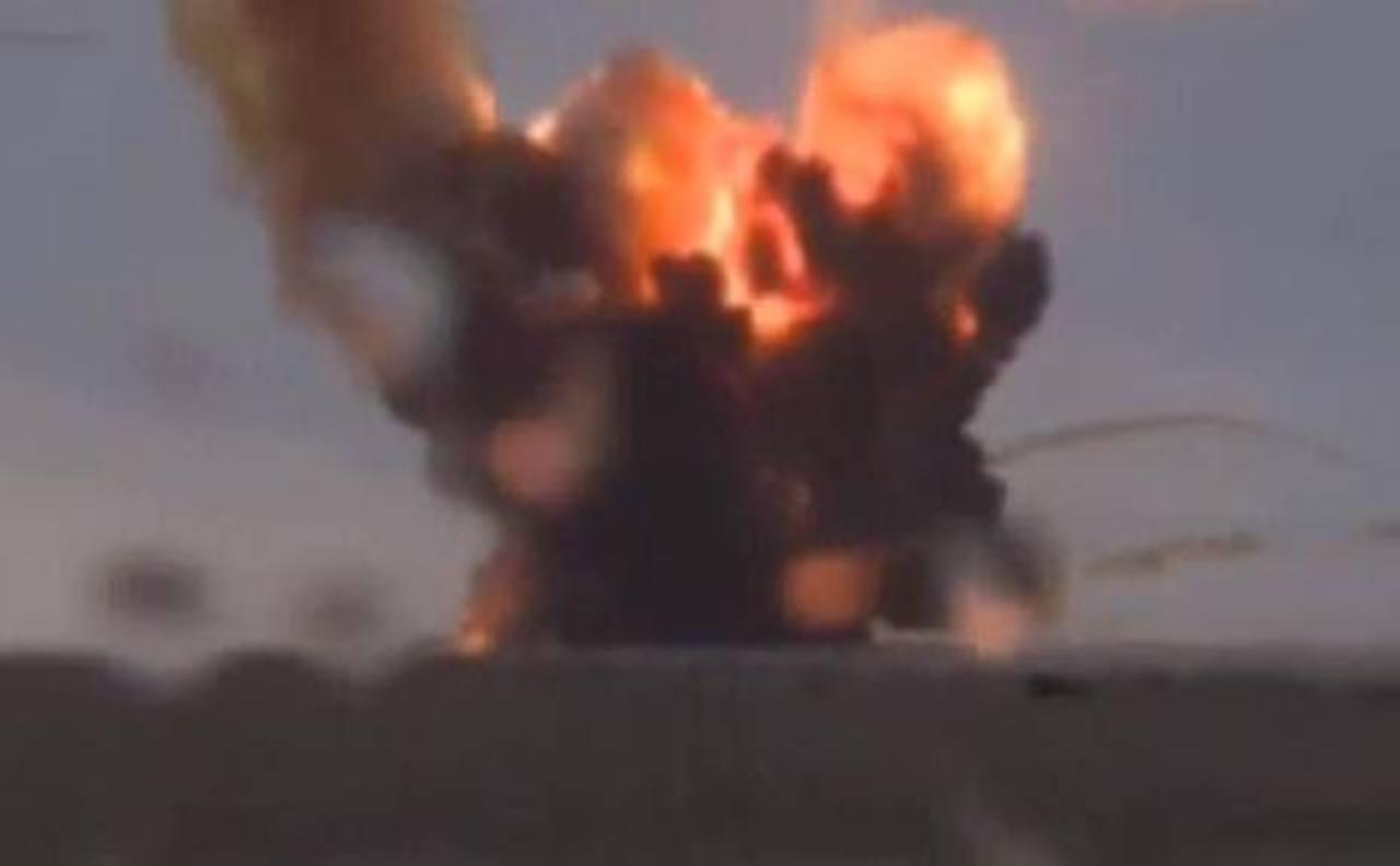 El cohete Proton- M se estrelló segundos después de su lanzamiento. Foto tomada de internet