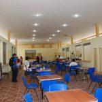 Interior del edificio del mercado municipal en San Alejo. Fotos EDH / insy mendoza
