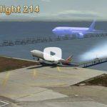 VIDEO: Recrean accidente de avión de San Francisco