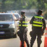 Policía de Tránsito instalará 123 controles en carreteras