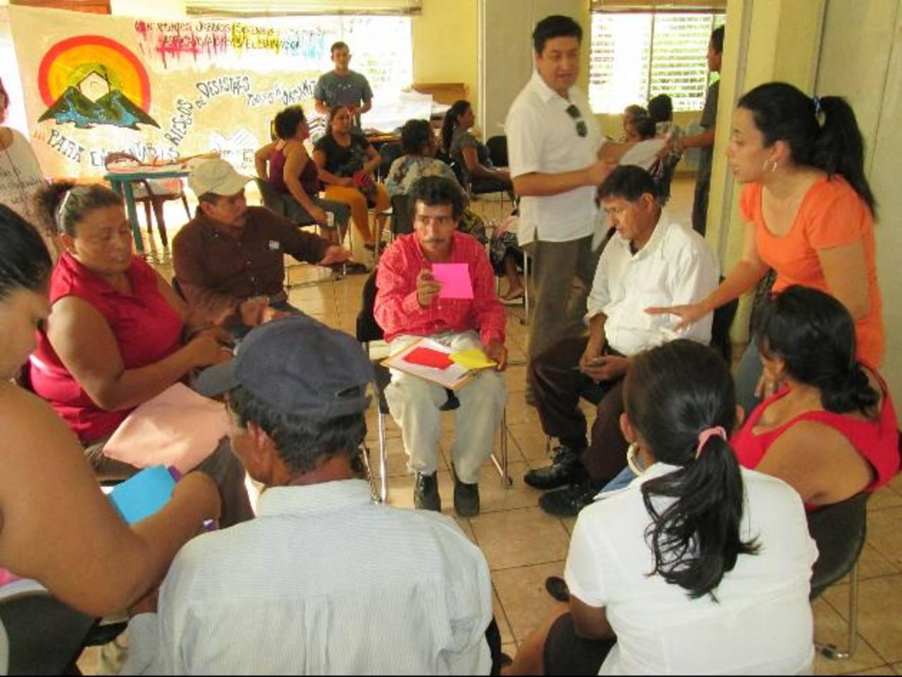 Los beneficiados con las viviendas dignas serán capacitados por más de dos meses, de acuerdo con los organizadores. Foto eh / CORTESÍA