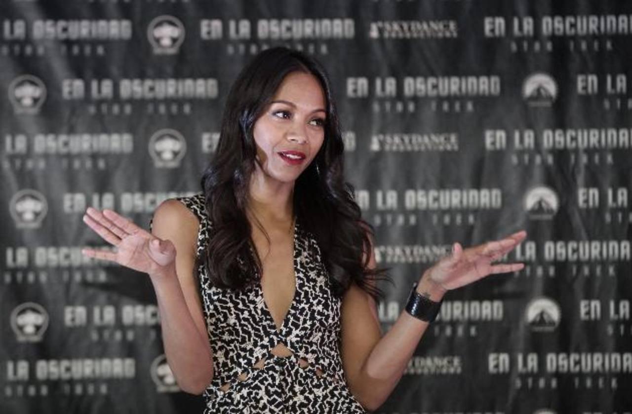 La estilizada actriz hizo una pausa en el rodaje de su última cinta para aparecerse en el Comic-Con, en EE. UU.