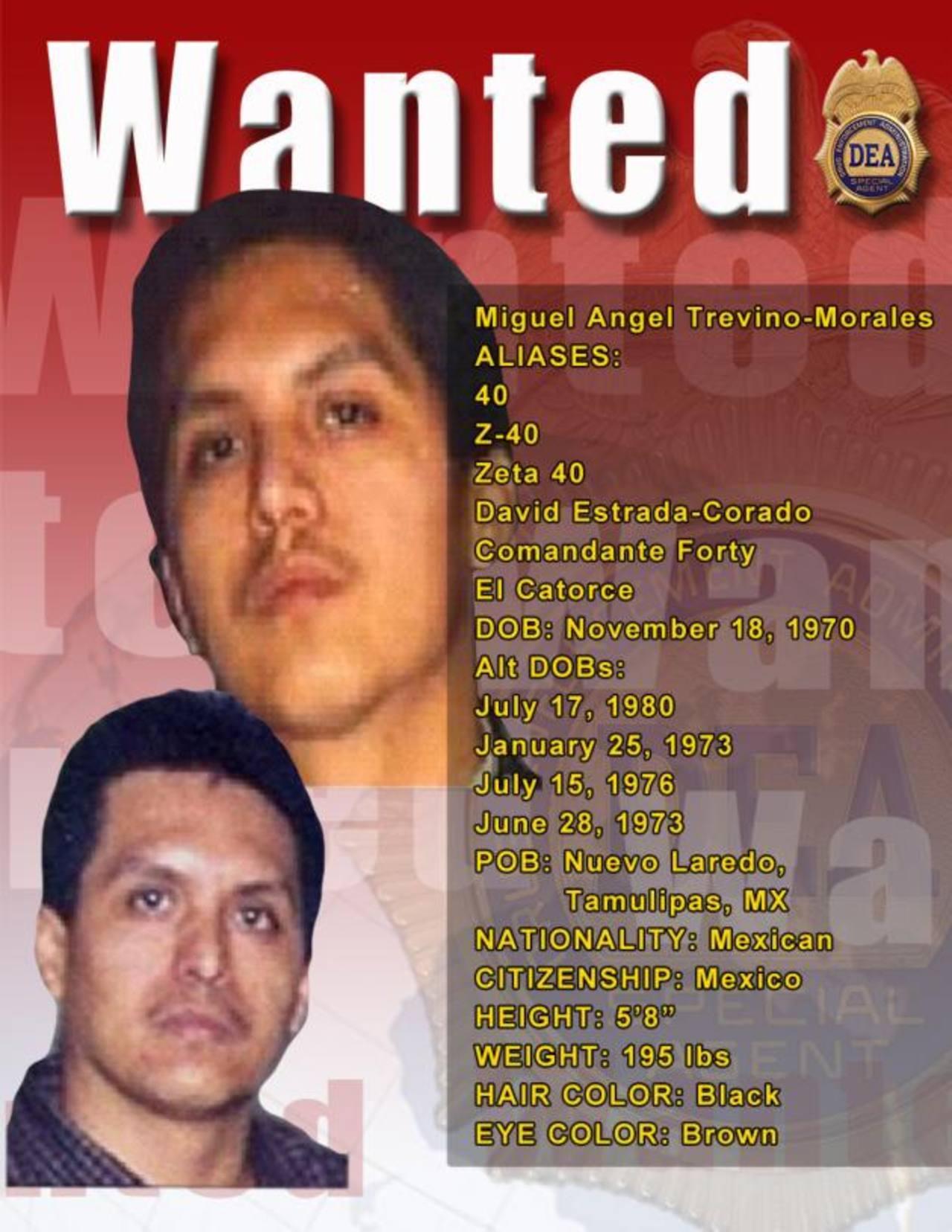 Miguel Ángel Treviño Morales también está vinculado con el secuestro y homicidio de 265 migrantes en Tamaulipas.