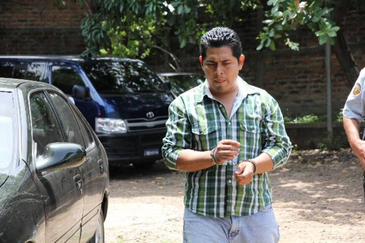 Santos Humberto Pérez Romero tenía una relación sentimental con la víctima, según testigo protegido. foto edh / archivo