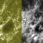 Esta combinación de imágenes difundida por el Centro Goddard de Vuelos Espaciales de la NASA. Foto/ AP