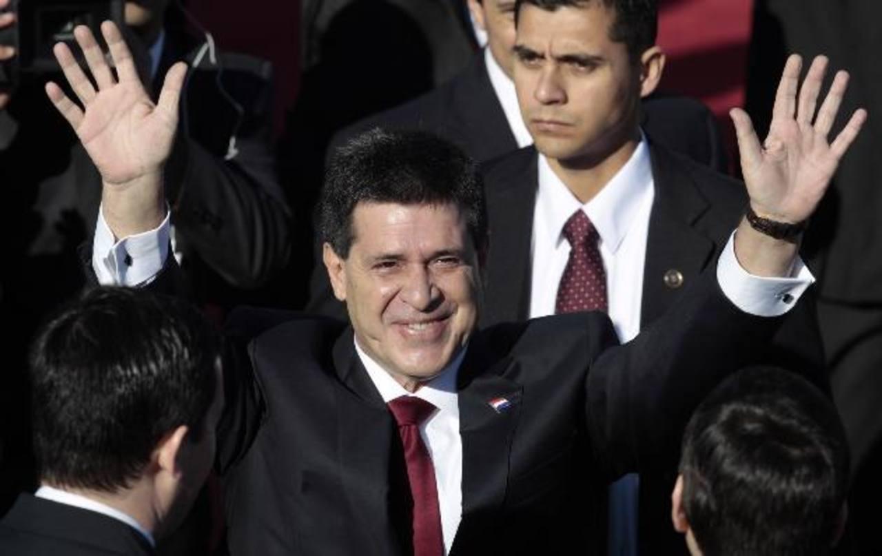 Horacio Cartes, presidente electo de Paraguay.