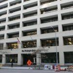 Fachada del edificio del periódico The Washington Post.