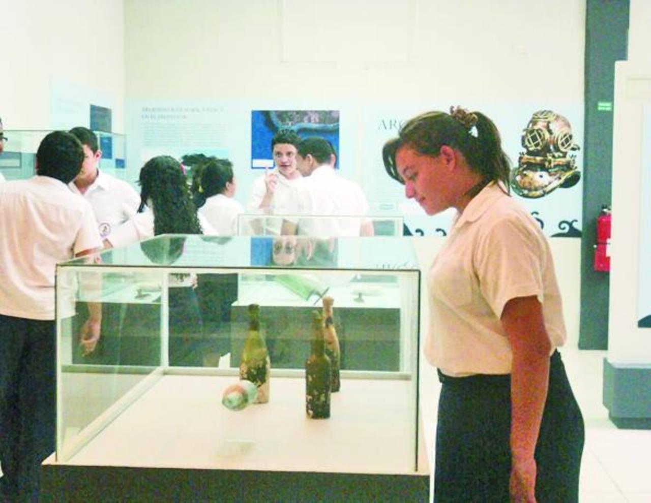 La exposición estará habilitada para todo público dijeron en el museo. foto edh / Cortesía.Los jóvenes participaron con interpretaciones musicales. Foto EDH / Cristian Díaz