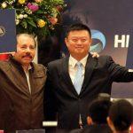 Ortega entregó hace dos meses el proyecto de concesión para la construcción del Gran Canal a la firma china HKND Group, cuyo presidente es Wang Jing. foto edh /