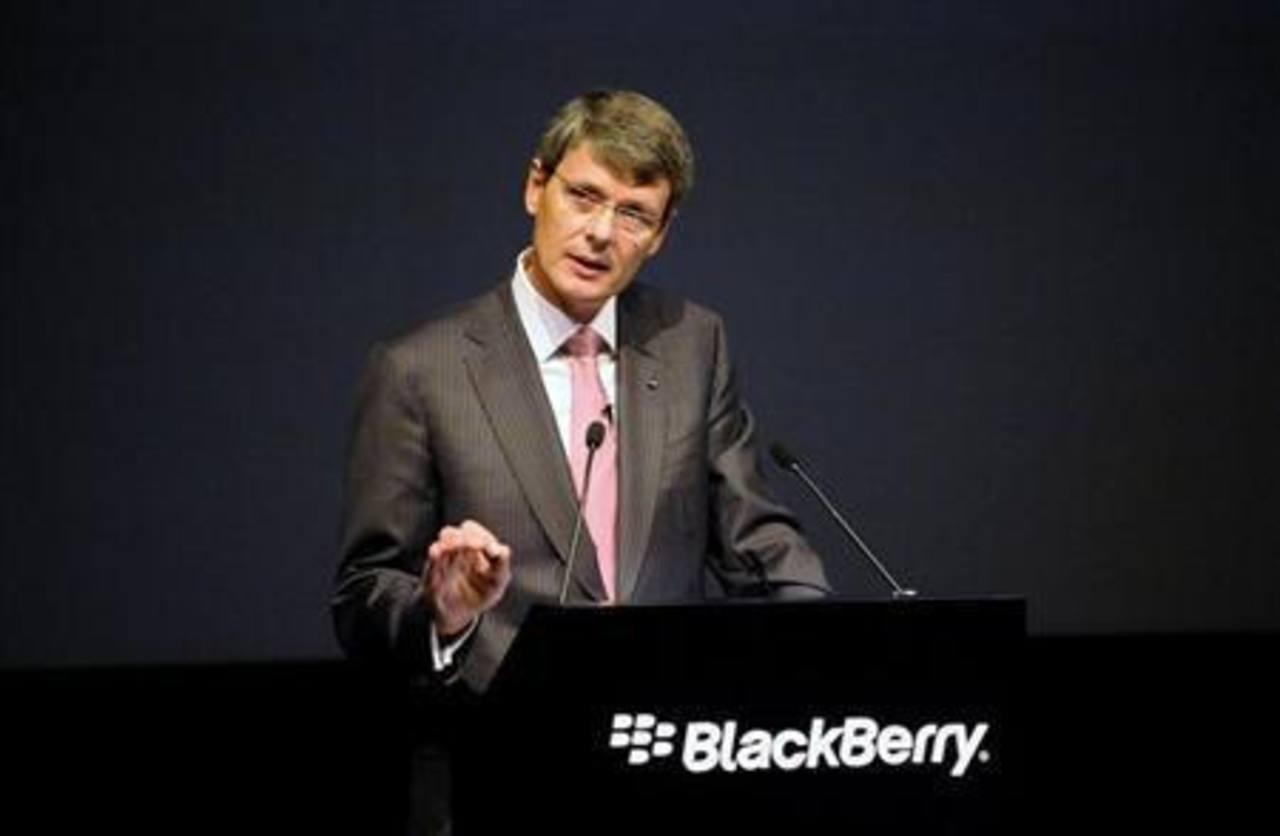 BlackBerry considera escisión del servicio de mensajes