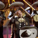 Pepe Aguilar en la ceremonia anual de los Latin Grammy.