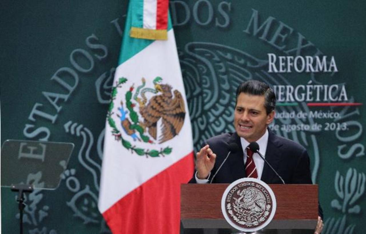 Peña Nieto comparó su paquete de reformas energéticas con las del expresidente Lázaro Cárdenas en 1938. foto edh /efe