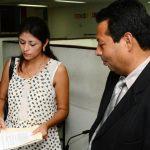 Reyna Núñez y Gilberto Flores, abogados de Miguel Montes, han solicitado una copia del expediente de acusación.