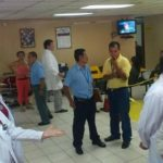 Médicos exigen mejoras salariales. FOTO EDH /Mauricio Castro