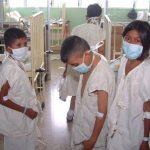 Niños beneficiados en las jornadas de trasplante de riñón realizadas por médicos extranjeros en el Bloom. Foto EDH / archivo