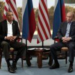 Obama y Putin se vieron durante la cumbre del G-8 en Irlanda del Norte el pasado 17 de junio. Foto EDH / archivo
