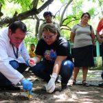 La toma de muestras se realizará en varios puntos del municipio de San Luis Talpa, La Paz. Foto EDH / Lissette Lemus