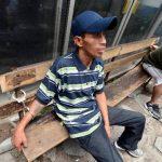 Ronal G.P. permanece en la unidad de investigaciones de la Policía de San Salvador. Rechazó acusaciones. Foto EDH/ Óscar mira