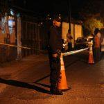 Sitio donde anoche asesinaron a un menor dentro de una tienda en colonia Las Margaritas de Soyapango. Foto EDH / M. H.