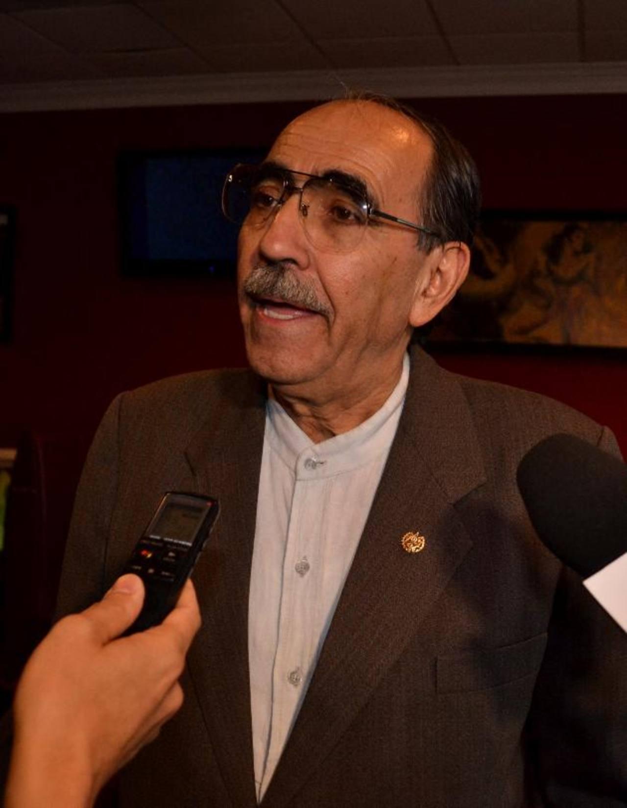 Rubén Zamora, embajador de El Salvador ante Estados Unidos participó en las reuniones con la MCC. Foto EDH /Tomás Guevara