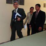 El presidente de la Corte Suprema de Justicia, Salomón Padilla, fue electo por el Congreso el 21 de agosto de 2012. Foto EDH
