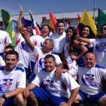Portillo Cuadra apoyó a equipos de fútbol en su corta estadía en Los Ángeles. foto edh / cortesía