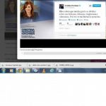 Uno de los tuits de la gobernante argentina Cristina Fernández (@CFKArgentina). foto edh /