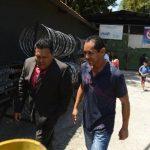 Juan José Bobadilla recobró ayer su libertad. Su hijo, hermana y esposa seguirán en prisión. Foto EDH / Marvin Recinos