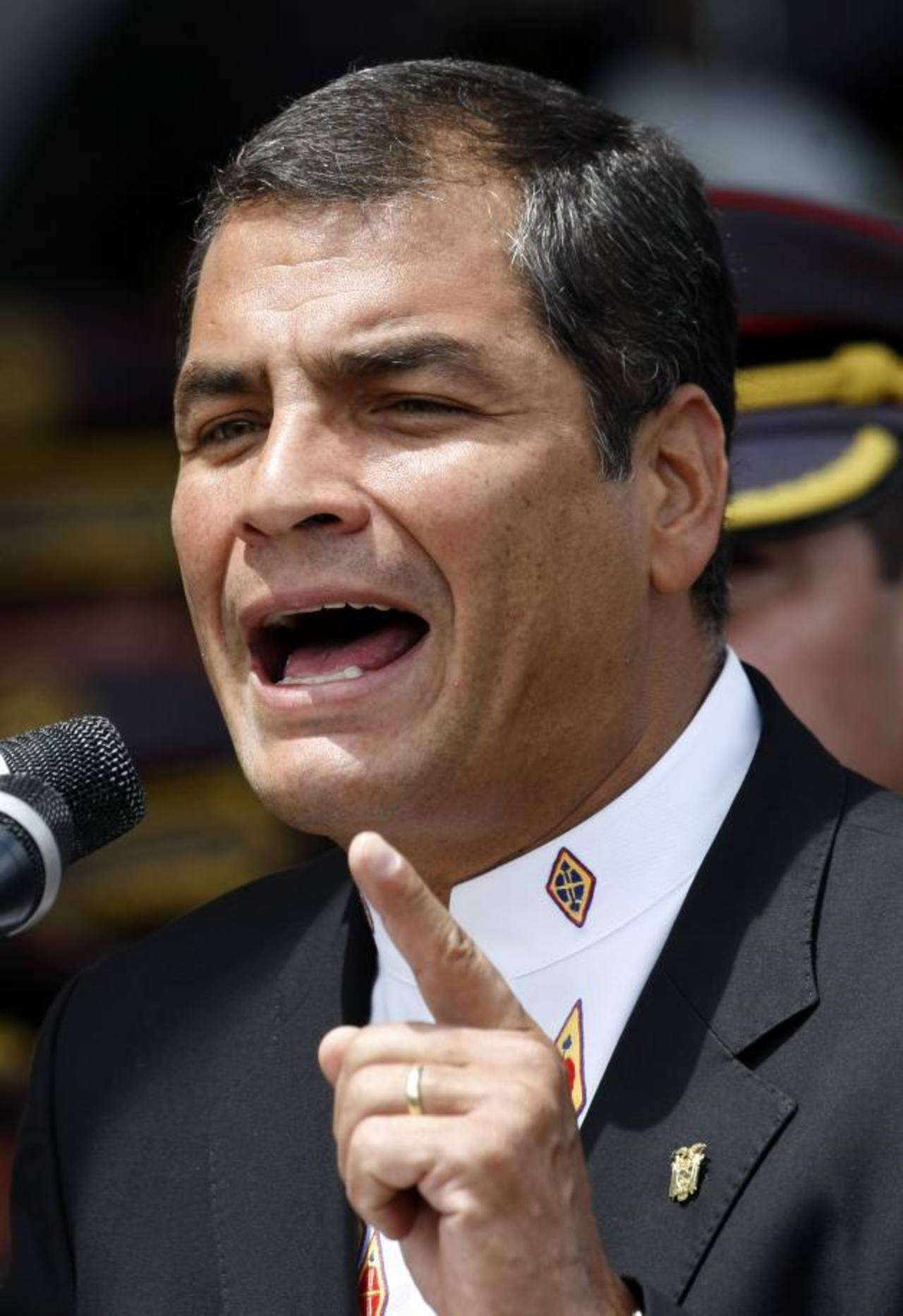 El gobernante ecuatoriano, Rafael Correa.