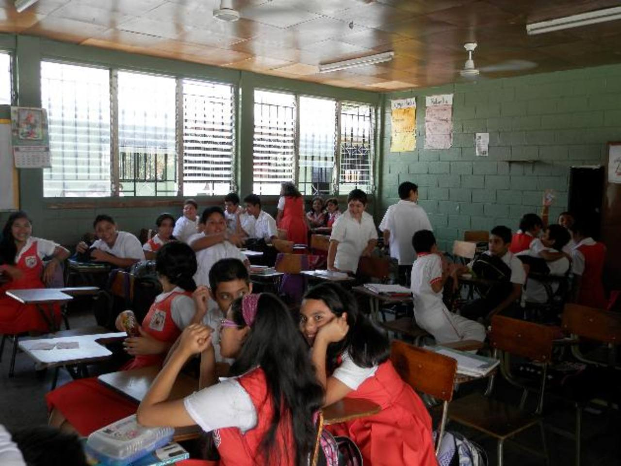 Aunque las instalaciones no muestran signos de deterioro, estas ya no dan abasto para más estudiantes. foto edh / Milton Jaco