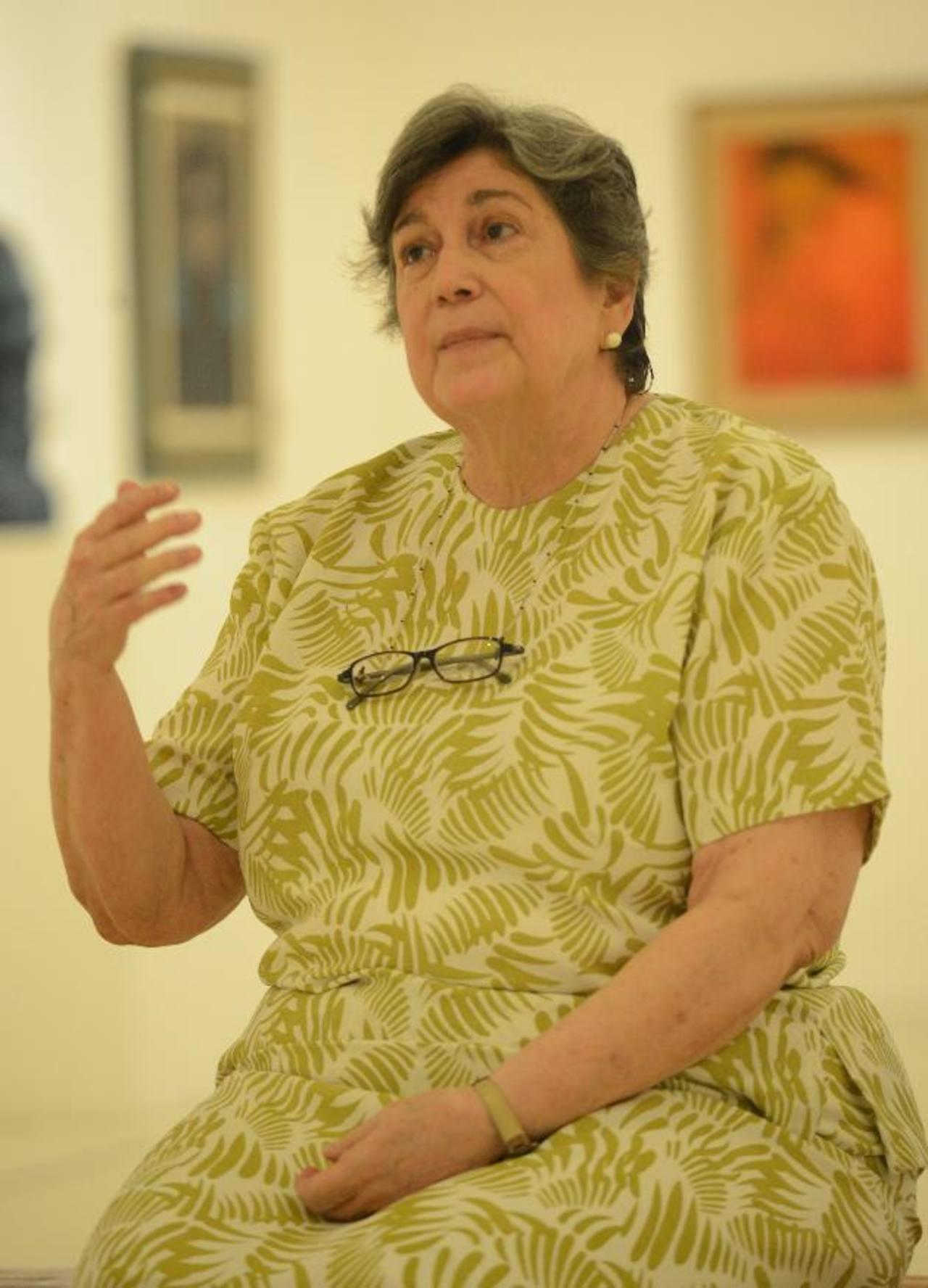Dra. Katherine Miller dará su taller en el salón audiovisual del Museo de Arte de El Salvador. FOTO EDH/ Douglas Urquilla