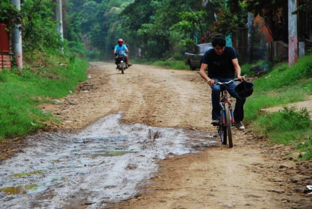 Autoridades edilicias buscan un convenio con el MOP para reparar al menos dos de los cuatro accesos. foto edh / Francisco Torres