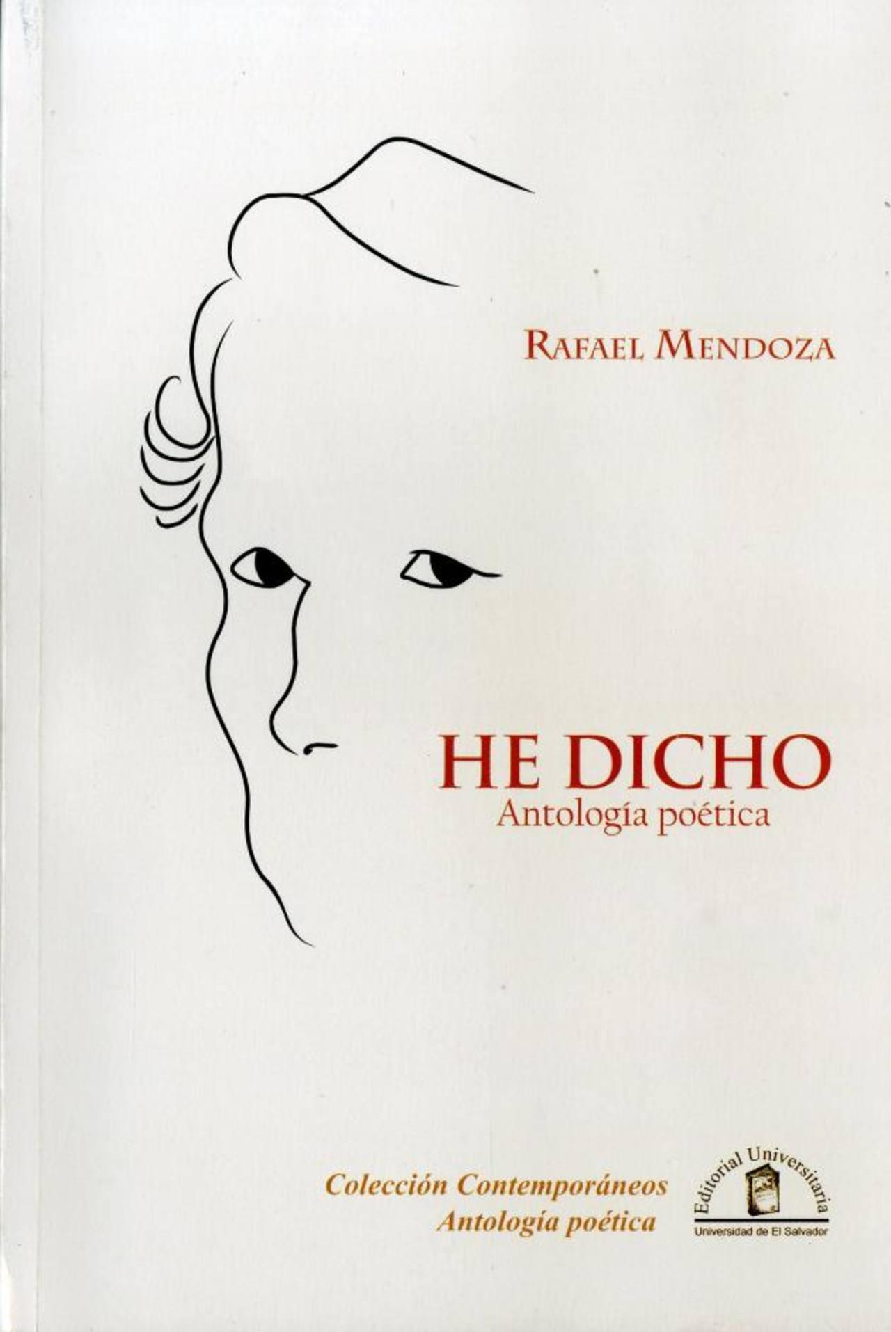 La antología del poeta puede encontrarse en la librería de la Universidad de El Salvador. Fotografía de El Diario de Hoy.