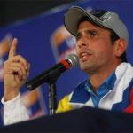 Henrique Capriles Radonski, líder de la oposición venezolana. Foto EDH