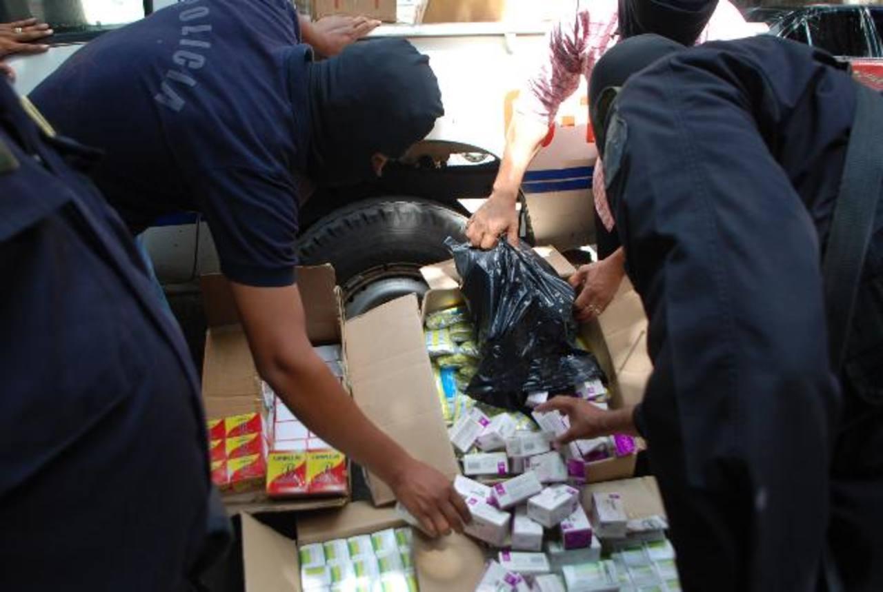 La medicina fue ingresada por un punto ciego, según el jefe de la delegación policial de San Miguel. Foto EDH / Francisco Torres