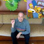 """Sam Simon, cocreador de """"Los Simpson"""", en su casa en Pacific Palisades, California. Foto/ AP"""