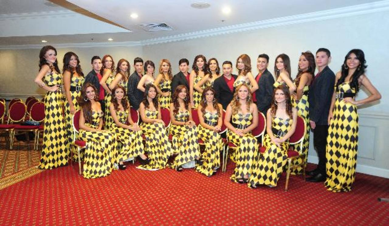 En rueda de prensa se dieron a conocer a los concursantes que aspiran a los títulos de belleza.