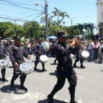 Policía celebra su día con desfile