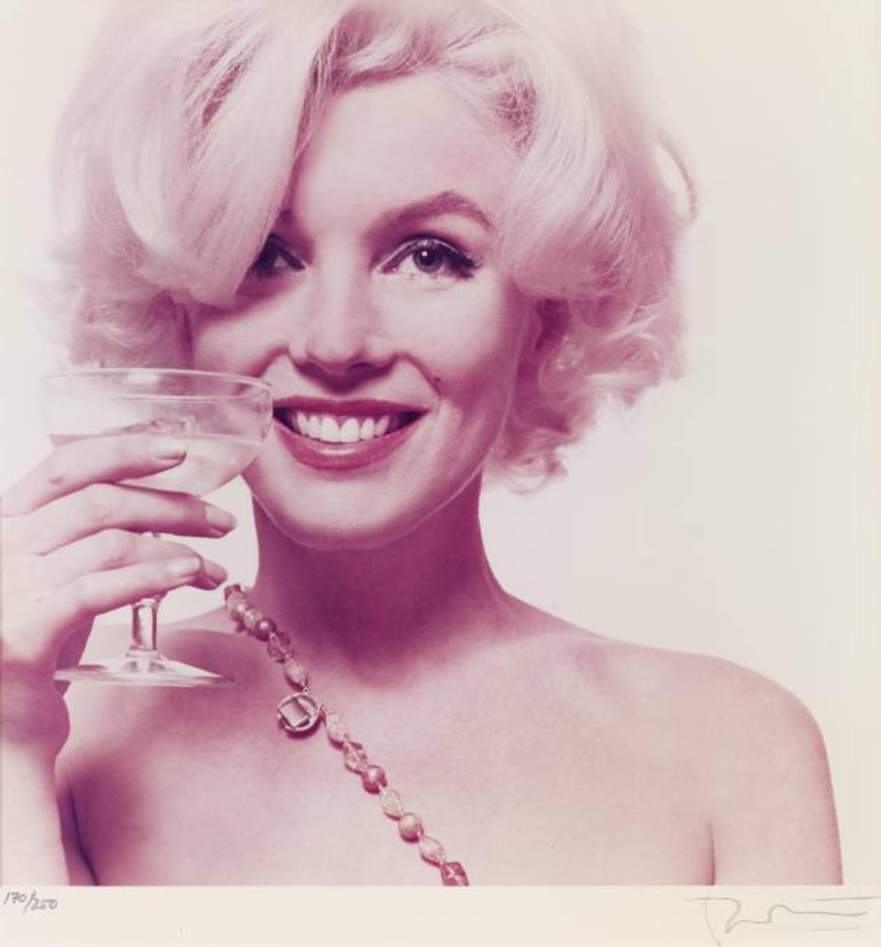 Foto de 1962 suministrada por la casa rematadora Freeman, en Filadelfia, de un portafolio de 10 fotos de la actriz Marilyn Monroe. Foto/ AP
