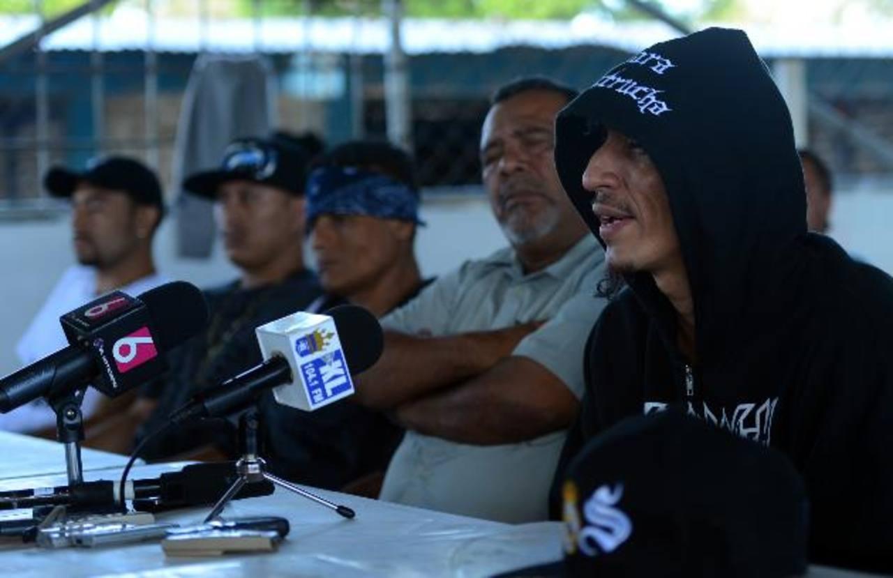 La tregua entre pandillas lleva ya más de un año entre críticas y apoyos de ciertos sectores. foto EDH / archivo