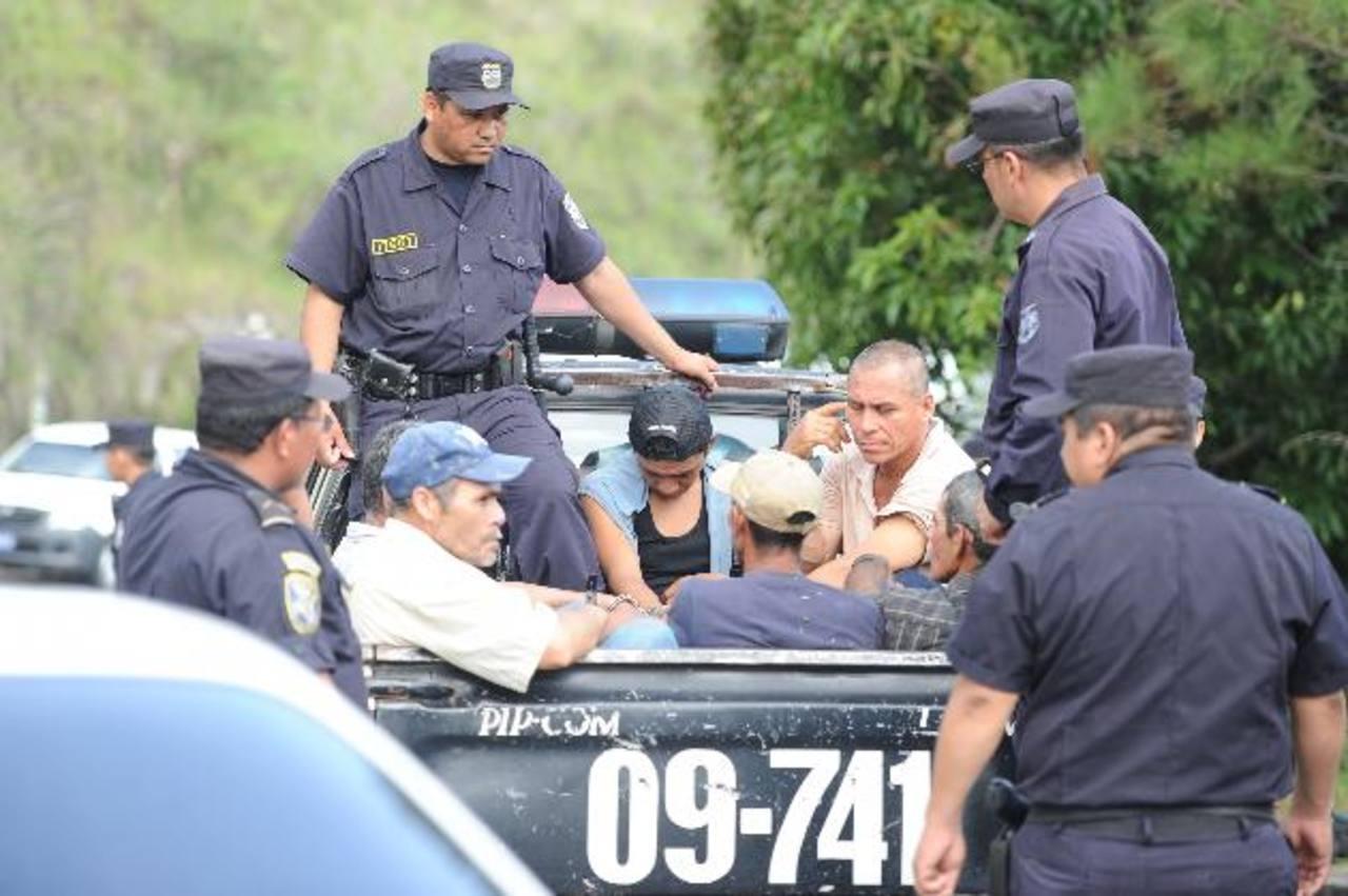 Los imputados fueron capturados el 7 de agosto pasado.