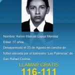 Jonathan Montoya y Kelvin López desaparecieron en Cojutepeque y San Rafael Cedros. Foto EDH / Cortesía Fiscalía